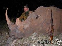 Poľovačka Nosorožec