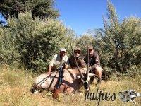 Poľovačka v Namíbii