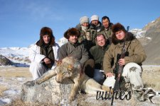 Poľovačka Kirgizsko